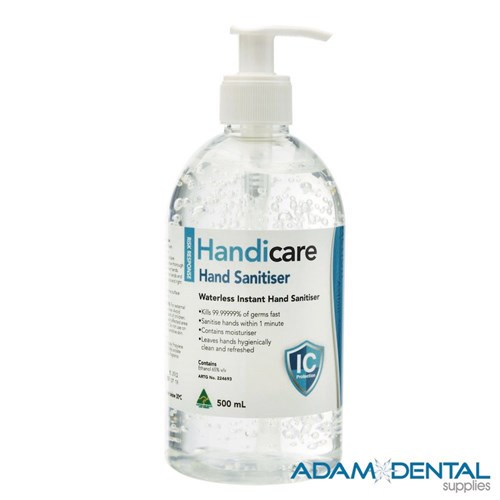 Handicare Hand Sanitiser 500ml NO RETURNS