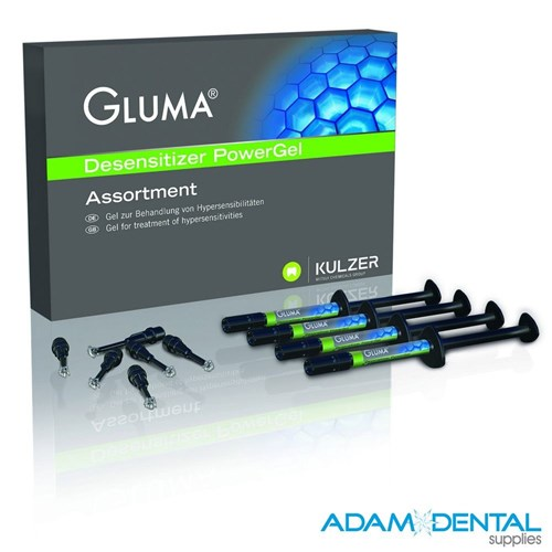 Gluma Desensitizer Powergel 1G x 4 syringes + PROMO